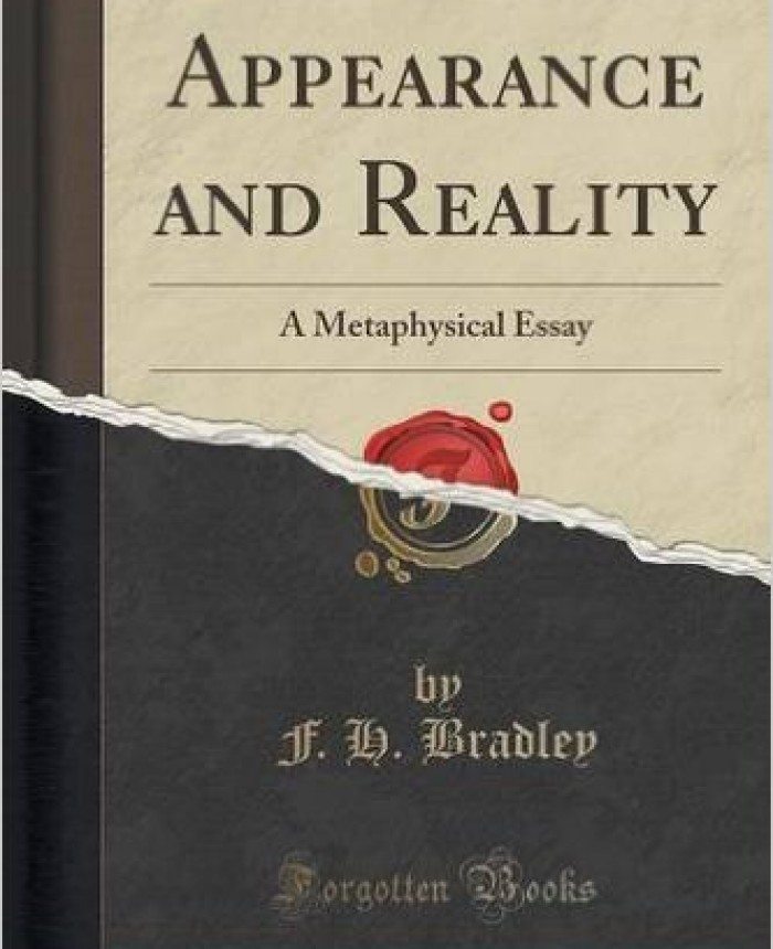 appearance-and-reality-a-metaphysical-essay-classic-reprint