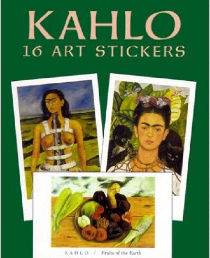 kahlo-16-art-stickers-dover-art-stickers