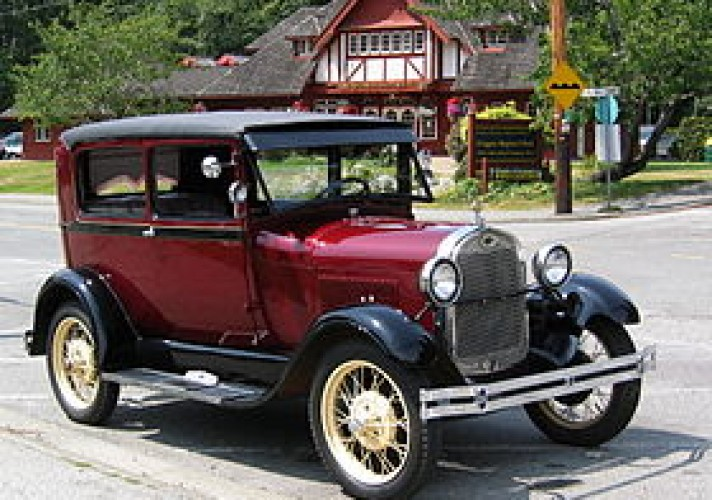 in-1927-ford-replaced-the-t-with-the-model-a-the-first-car-with-safety-glass-in-the-windshield-ford-launched-the-first-low-priced-v8-engine-powered-car-in-1932