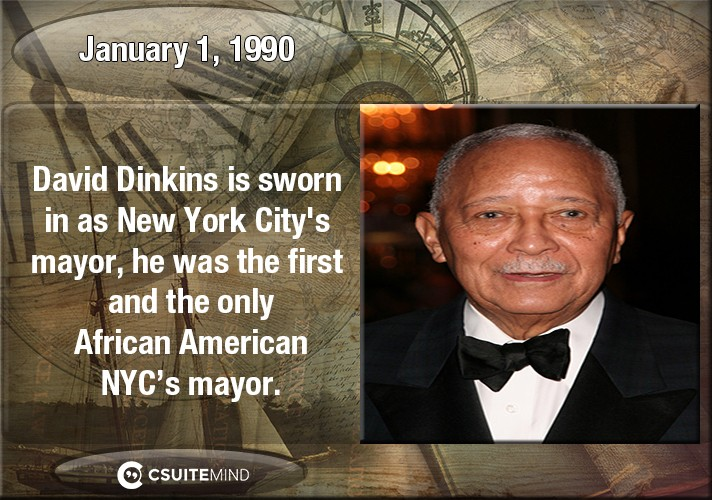 on-january-1-1990-david-dinkins-is-sworn-in-as-new-york-citys-mayor-he-was-the-first-and-the-only-african-american-nycs-mayor