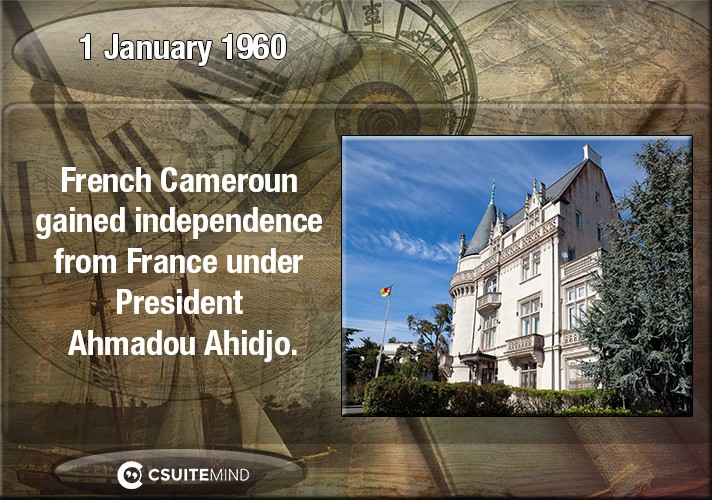 on-1-january-1960-french-cameroun-gained-independence-from-france-under-president-ahmadou-ahidjo