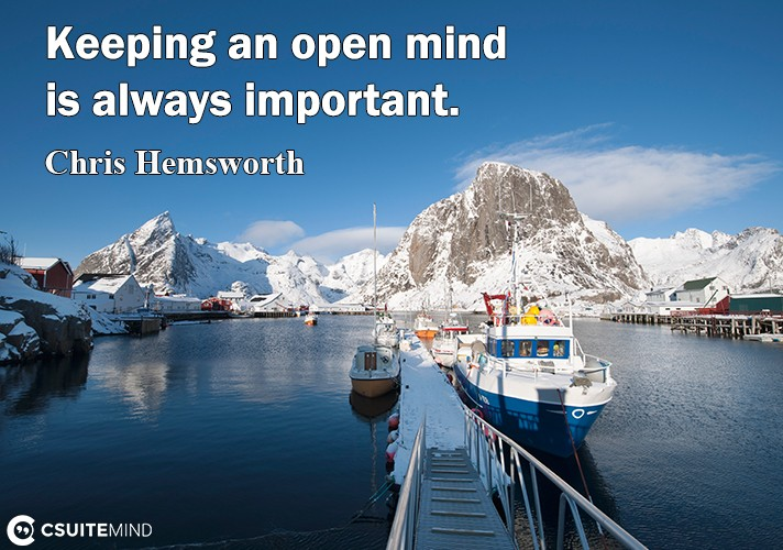 Kеерing аn ореn mind iѕ always imроrtаnt.