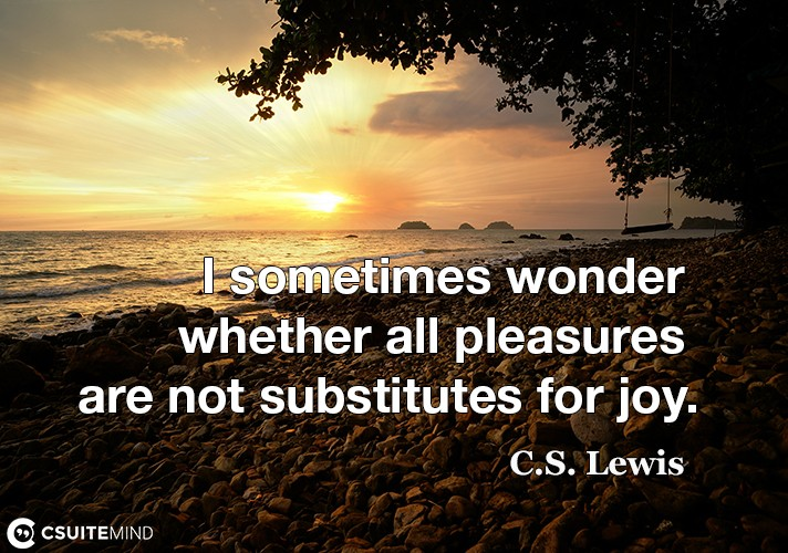 i-sometimes-wonder-whether-all-pleasures-are-not-substitutes