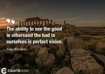 the-ability-to-see-the-good-in-others-and-the-bad-in-ourselv