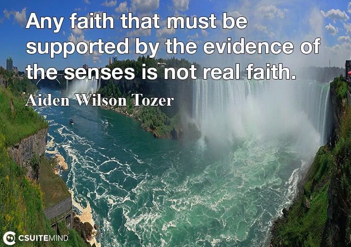 any-faith-that-must-be-supported-by-the-evidence-of-the-sens