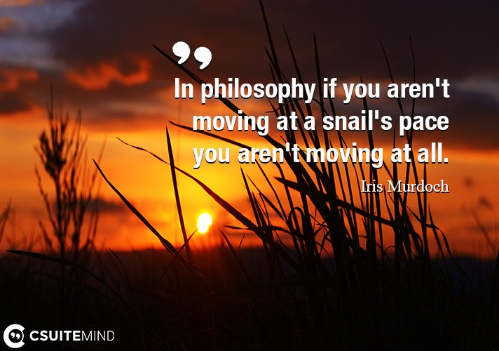 in-philosophy-if-you-arent-moving-at-a-snails-pace-you-are