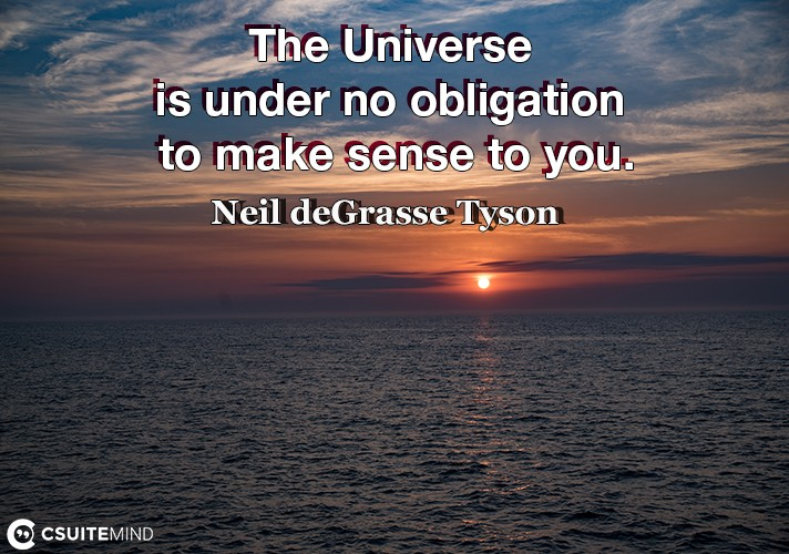 the-universe-is-under-no-obligation-to-make-sense-to-you