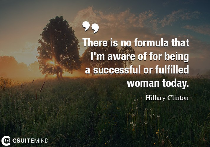 there-is-no-formula-that-im-aware-of-for-being-a-successful
