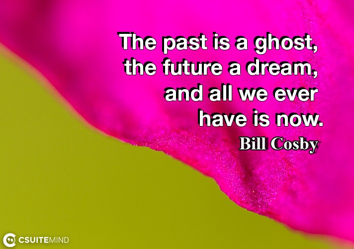 the-past-is-a-ghost-the-future-a-dream-and-all-we-ever-hav