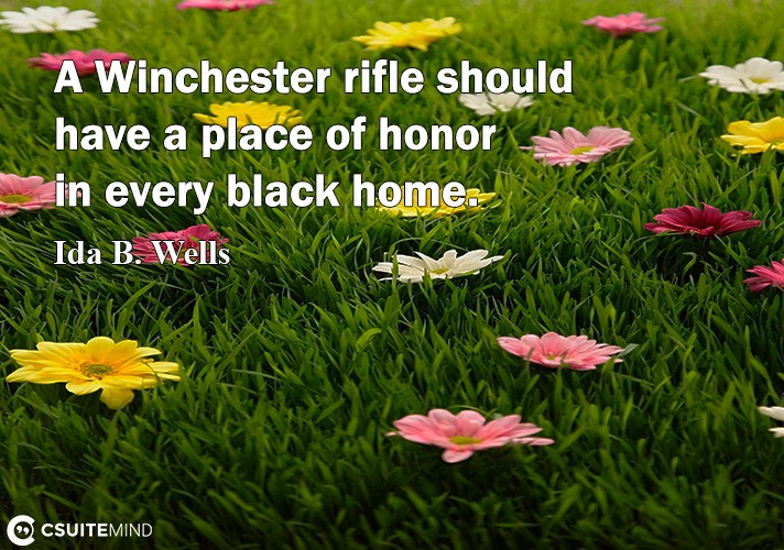 A Winchester riflе ѕhоuld have a place оf honor in еvеrу blасk hоmе.