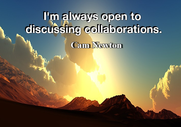 I'm always open to discussing collaborations.