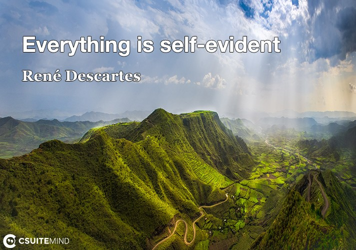 everything-is-self-evident