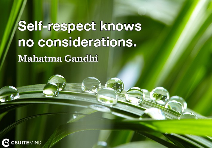 self-respect-knows-no-considerations